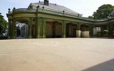 Renovatie esplanade Vauxhall (Théâtre Royal du Parc – Brussel) voor Thiran