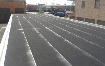Etanchéité toiture plate carport (Verrebroek)