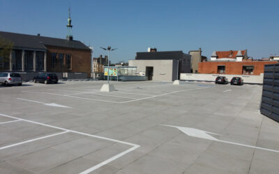 Rénovation toiture-parking supermarché Lidl (Merksem)