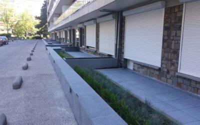 Renovatie parkeerdak Residentie Briand (Brussel) voor Trevi