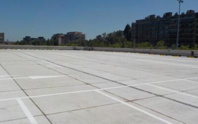 Rénovation totale toiture-parking Westland Shopping Center (AG RE – Anderlecht)