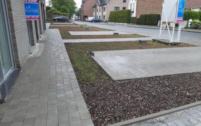 Rénovation structurelle de l'étanchéité des garages souterrains dans la zone des terrasses et des parking inclus entrée carrossable Résidence La Houblonnière (Exclusief Beheer – Alost)