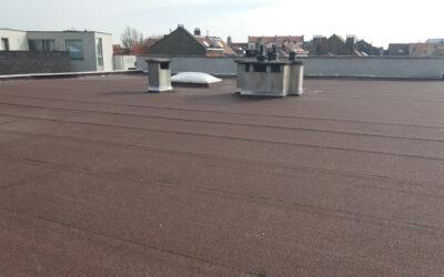 Renovatie plat dak voor appartementsgebouw VME Wauters (Schaarbeek)