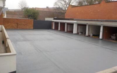 Rénovation toiture-parking Résidence Athena (Antares – Gand)