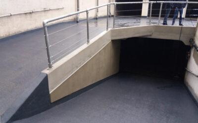 Rénovation structurel toiture-parking Résidence Peter Benoit (Syndicus.Gent – Gand)