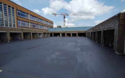 Rénovation toiture-parking Résidence Ursmar (Agentuur Philip – Alost)
