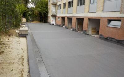 Etanchéité et couche de roulement toiture-parking Résidence Ter Dennen (Hoeilaert)