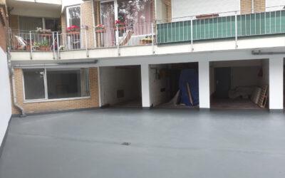 Rénovation toiture-parking Résidence Nerviens (Regimo-Syndim – Bruxelles)