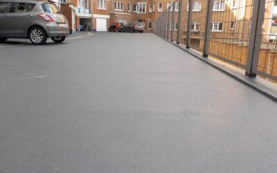 Rénovation toiture-parking Résidence Soleil (Polivalent – Bruxelles)