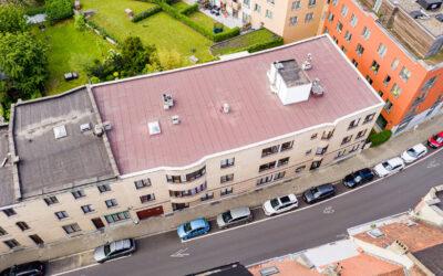 Rénovation toiture plate pour ACP Wauters à Schaarbeek