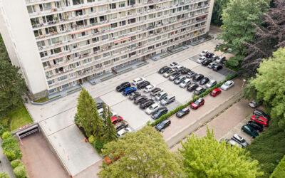 Rénovation toiture-parking, accès services urgence et esplanade Résidence Briand (pour Trevi)