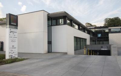 Divers travaux d'entretien du parking du Westrem Building (Sint-Denijs-Westrem/Gand) pour Immo Ceusters